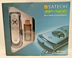 Satechi SP-400 Smart Pointer Pro Wireless Presenter 2.4GHz Mouse Mode Laser Beam