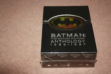 BATMAN The Motion Picture Anthology - NEW 8 DVD FREE POST- mmoetwil@hotmail.com