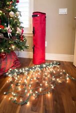 Santa's Bags Portable Christmas Net Light Storage Tube