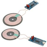 5PCS Wireless Transmitter Module Charging Module Board With Dual LED Indicator