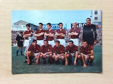 CARTOLINA - SQUADRA / TEAM  MILAN 1967-68 - ITALIA - ADF MILANO - NON VIAGGIATA