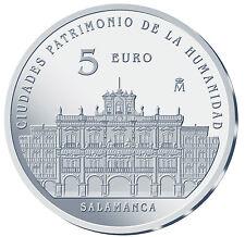 ESPAÑA 5 euro plata 2015 SALAMANCA Ciudades Patrimonio de la Humanidad II Serie