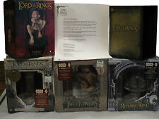 Lord Of The Rings Complete Extended Dvd Gift Set Argonath Gollum Sideshow Weta