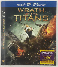 Wrath of the Titans WARNER BROTHERS *Slipcover ONLY* for Blu-ray