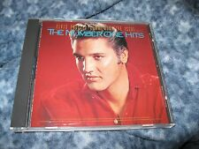 """ELVIS PRESLEY CD """"THE NUMBER ONE HITS"""" RARE 1987 BMG COMMEMORATIVE ISSUE"""