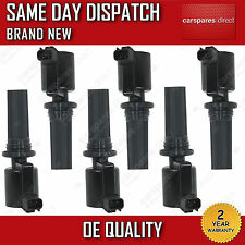 6X FULL SET JAGUAR S-TYPE 1999-07 / LINCOLN LS 1998-ON PENCIL IGNITION COIL*NEW*