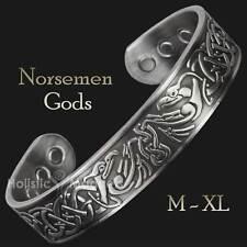 Mens Copper Magnetic Bracelets for Arthritis Viking Bracelet Sizes: M-XL - EP