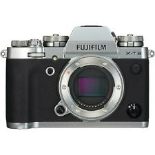 Fujifilm X-T3 Mirrorless Digital Camera Xt3 Xt-3 (Body Only, Silver)