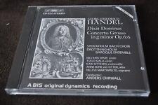 Georg Friedrich Handel - Dixit Dominus Concerto Grosso CD BIS 1986 West Germany