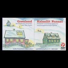 Greenland 2004 - Merry Christmas Children's Art Booklet - Sc 442b MNH