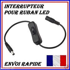 INTERRUPTEUR POUR RUBAN LED 12V LONGUEUR CABLE 30CM