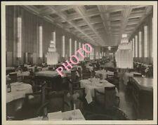PHOTOGRAPHIE  SS LINE  PAQUEBOT NORMANDIE CLASSE SALON   17x13  cm  PICTURE PICS