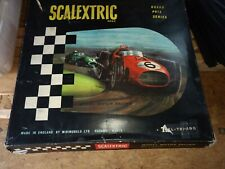 Vintage Scalextric 1:32 Track & Components from a GP.33 Grand Prix Series set