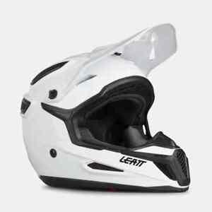 Leatt Adult Helmet GPX 5.5 Solid White Size XS Motocross Off Road Fox Thor Honda