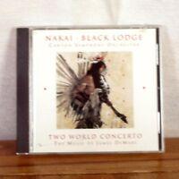 James DeMars Two World Concerto Nakai Black Lodge Native American CD Album 1997