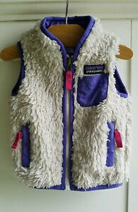 Patagonia Baby Retro X Fleece Vest Deep Pile Purple Size 6 Month (29026D)
