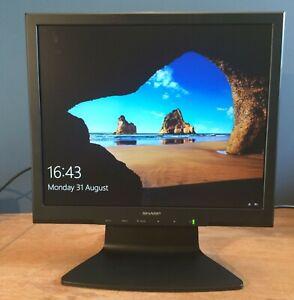 17 inch LCD monitor Sharp LL-173C-B