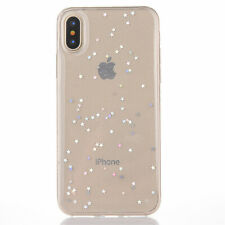 Sparkle Crystal Stars Pattern TPU Cover Bumper Case For iPhone 11 2019 XR XS MAX