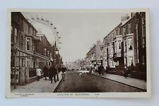 Vintage RP Postcard - Adelaide Street , Blackpool , Lancashire .