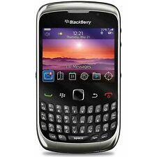 BlackBerry Curve 9300 - Black (Unlocked) Gsm 3G WiFi Qwerty Camera Smartphone