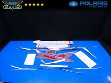 2200353 Polaris Decal Sticker Kit Set Snowmobile 1991 Indy 400