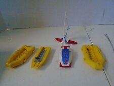 Lego Lot  Pieces City  Life Raft Sailboat Boats Jetski Jet Ski Water Sports