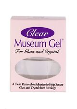 Ready America QuakeHold Clear Museum Gel Adhesive For Glass,Crystal, Antiques