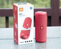 JBL JBLFLIP4REDAM FLIP 4 RED Waterproof Portable Bluetooth Speaker, Red