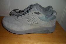 MUST SEE NEW BALANCE 928V3  MW928GY3 Gray Suede WALKING SHOE MEN 14 6E EEUC LN