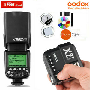 AU Godox V860II-S 2.4G TTL Li-ion Battery Flash Speedlite+X2T-S Trigger For Sony