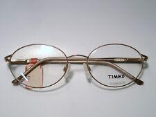 New Ladies Metal Eyeglass Frame Timex T102 BROWN 54-17-135