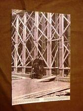 Stampa del 1941 Seconda guerra mondiale WW2 Firenze Cappella Pazzi Certosa Pavia