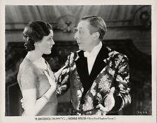Mary Astor, George Arliss ~ ORIGINAL 1932 scene still ~ A Successful Calamity