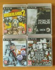 Lot of 4 Games for Sony PS3/Borderlands 2 Medal of Honor Battlefield 4 Etc