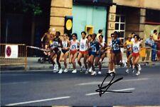 Fatuma Roba-Gold Olympic Athletics Original Autograph photo (e-9813