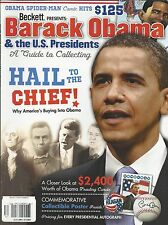 Becket Barack Obama magazine U.S. Presidential autographs Cards Collectibles