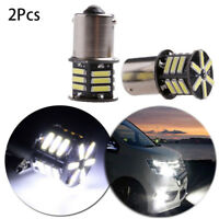 2x BA15S 1156 P21W  LED Tail Lamp Back-up Cornering Bulb