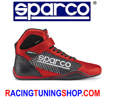 SCARPE KART SPARCO OMEGA KARTING SHOE SCHUHE RED TAGLIA 40 KARTING SHOES