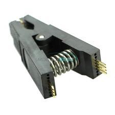 NEW Programmer Testing Clip SOP SOIC 8 SOIC8 DIP8 DIP 8 SOP8 Pin IC Test Clamp M