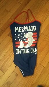 Girls Justice One Piece Swimsuit Size 22 Plus NWT