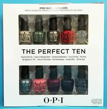 OPI Coca-Cola THE PERFECT TEN 10-pc Mini Polish Gift Set~like TREND TEN, TOP TEN