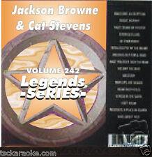 CAT STEVENS Jackson Browne  Karaoke CDG 17 Sg STAY Wild World MOODSHADOW