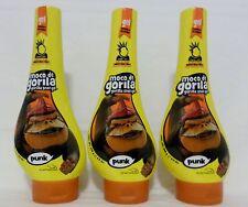 3 Moco De Gorila Hair Gel Net Wt 11.9 Oz ea NEW!