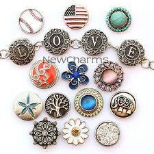 Snap Charm Jewelry - Your Selection of Snaps - Over 200 designs available now