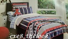 SHERIDAN JUNIOR KIDS  KINGSLEY DOUBLE QUILT COVER SET IN NAVY   BRAND NEW
