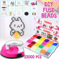 13000pc 48Colors 2.6mm Hama Perler  Craft Pegboard Activity Fuse
