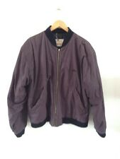 Burton Men's Lightly Padded Jacket Size M Grape With Black Trim <R13023