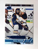 2018-19 UD Upper Deck Overtime Wave 2 Blue #87 Tobias Rieder