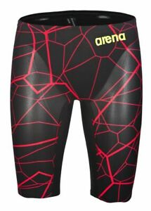 NWOT - Arena Mens Limited Edition Carbon Air Jammer Black / Bright Red |  US 28