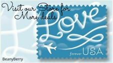 USPS Forever First Class  5 Sheet of 20 Love Stamps FREE SHIPPING!
